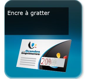 flyer fidelite Encre grattable