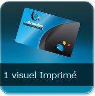 Badge Option Prix pour 1 visuel