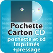 CD DVD Gravure & Packaging Pressage de CD + pochette carton