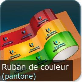 ruban adhésif personnalisé Ruban en couleur pantone