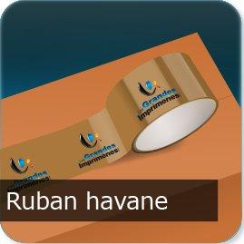 ruban adhésif personnalisé Ruban Havane