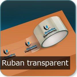 ruban adhésif personnalisé Ruban Transparent