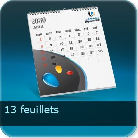 Calendriers 13 feuillets