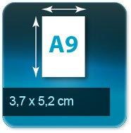 Autocollant & Étiquette 37x52mm