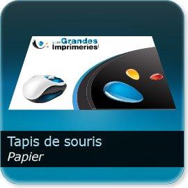 tapis de souris personnalisé papier