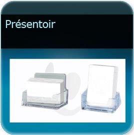 Badge plastique personnalisé Présentoir pour badge ou carte plexi pour bureau