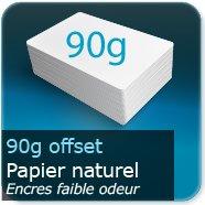 Sets de table Papier offset 90g / encres faible odeur