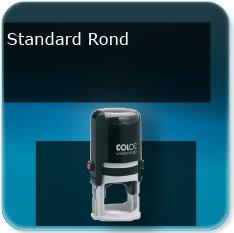 Tampon personnalisé rond standard et mini format